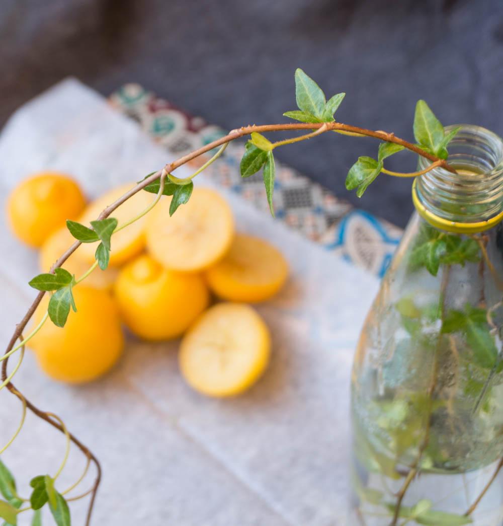 Inlagda citroner à la Marocko