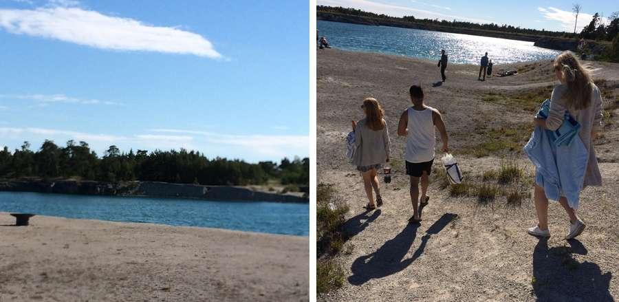 6 gotland bla lagunen strand bada