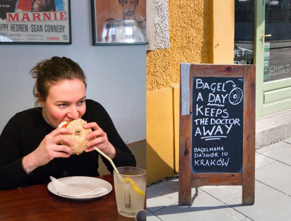 Bagels i Krakow