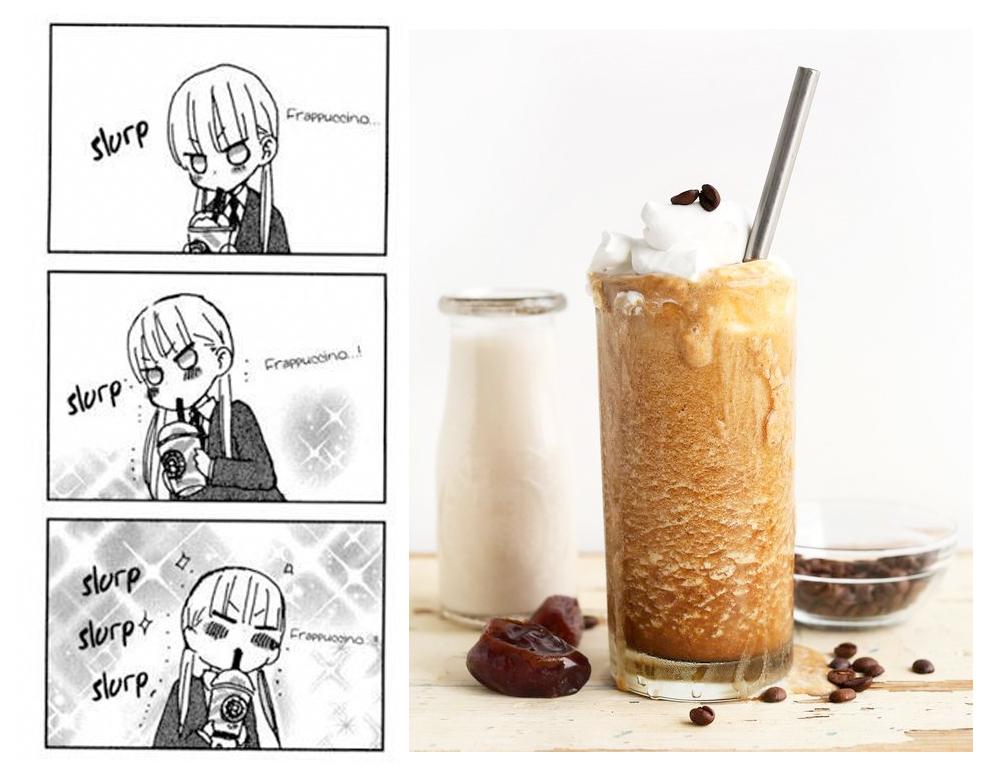 frappe milkshake historia