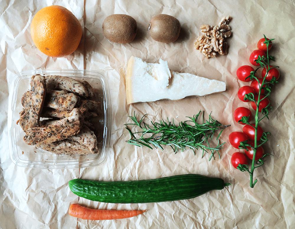 Greens and vitamins!    Stekt Tavuk-kyck