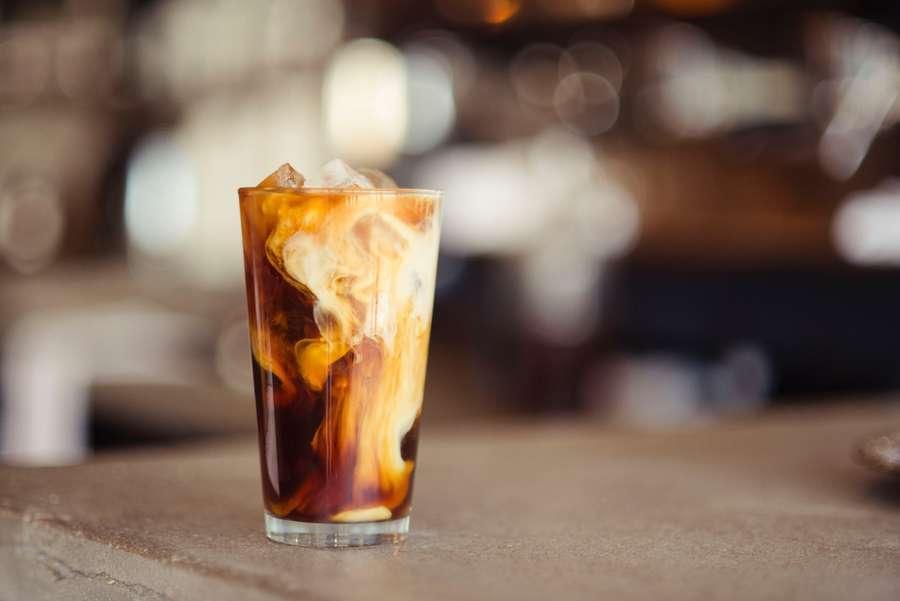 rew är en version av iskaffe, men istället f